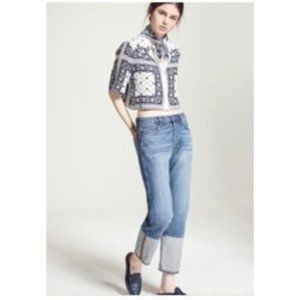 FRAME Denim Le Original Reverse Cuff Jeans Size 27